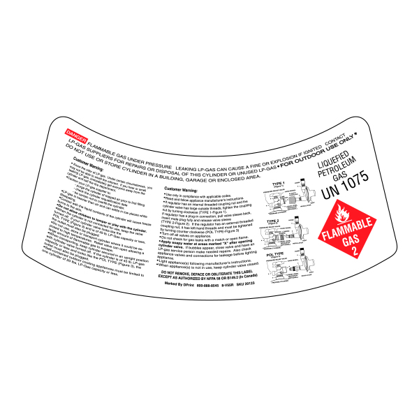 2-In-1 Cylinder Collar Label (7.375x3.375)