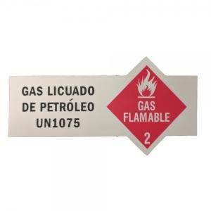Dot Cylinder Label (4x1) - Spanish Version
