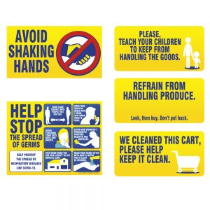 CDC Policy Signs Kit