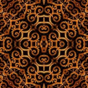 Ceramic Tile .125 Ironclad Tumbled Stone (4x4)