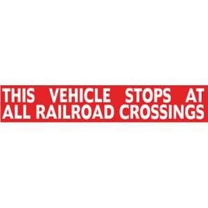 Railroad Crossing (36×8)