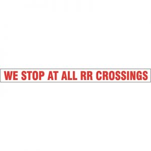 Railroad Crossing (36×4)
