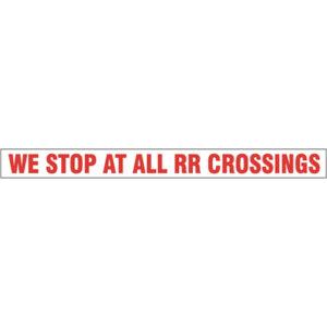 Railroad Crossing (36×4)